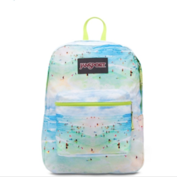 Jansport Bags Nwt Super Fx Backpack Beach Print Poshmark